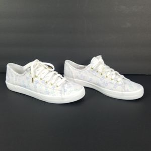 Keds Ortholite Floral Sneakers Shoes 9